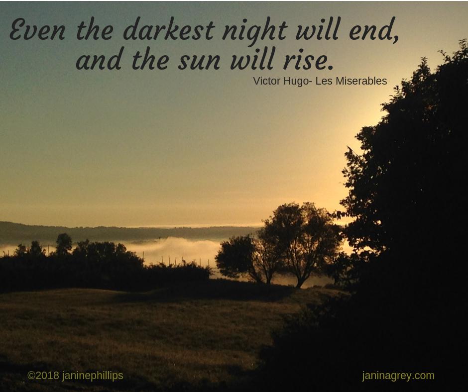sun will rise